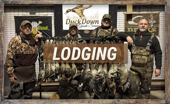 Lodging at Duck Down Guide Service